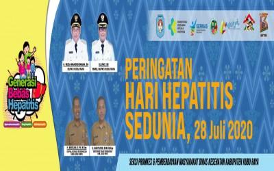 Hari Hepatitis Sedunia Ke -11 tanggal 28 Juli 2020