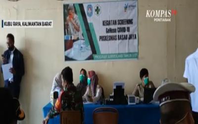 Dinkes Kubu Raya Gencar Lakukan Screening GeNose di Terminal dan Pelabuhan di Kubu Raya