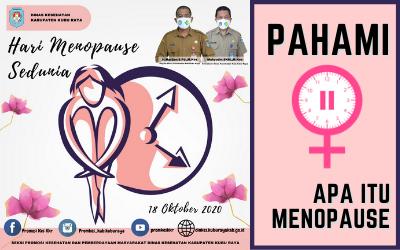 HARI MENOPAUSE SEDUNIA, 18 OKTOBER 2020