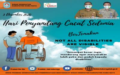 Peringatan Hari Penyandang Cacat Sedunia