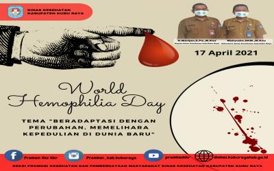 Tema Hari Hemofilia Sedunia Tahun 2021