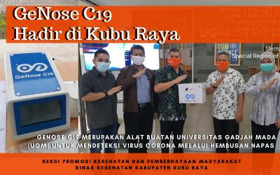 GeNose, Alat Canggih Tes Covid-19 Hadir di Kubu Raya
